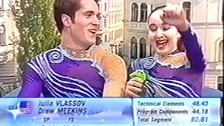 Julia Vlassov & Drew Meekins USA - 2006 Junior World Figure Skating Championships LP