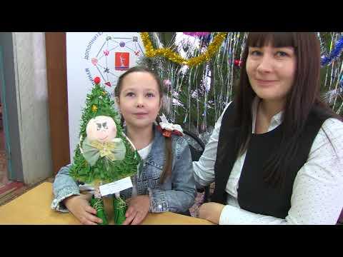 Новогоднее чудо: мастер-класс от быковчанки Анастасии Гладковой