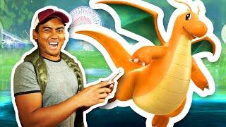 How To Catch A Dragonite + SANTA MONICA PIER   Pokemon GO