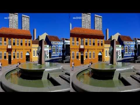 3D Curitiba - Praça das Nações, Barigüi e Centro - Panasonic Lumix LX7