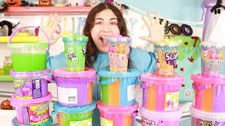 MIXING ALL MY GIANT BUCKETS OF STORE BOUGHT SLIME! Slimeatory #478