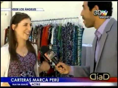 Mayim Bialik speaking SPANISH :)