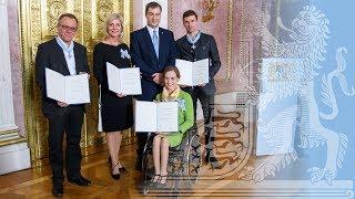 Verleihung des Bayerischen Verdienstordens - Bayern