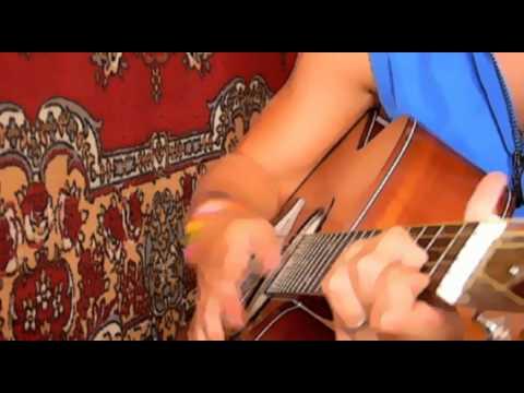 Песня под гитару - Стая (Кошка Сашка cover)