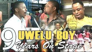 UWELU BOY 9 YEARS ON STAGE x DR AGBAKPAN OLITA x OKOBO || BENIN MUSIC LIVE ON STAGE