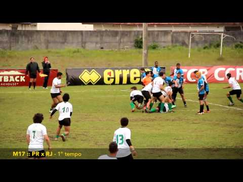 Rugby :: M17 - Sel. PR x Sel. RJ