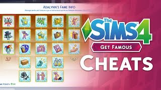 The Sims 4 Get Famous: New Cheats and How To Use Them