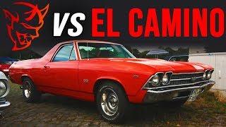 Dodge SRT Demon vs 1969 El Camino & Super Cobra Jet | BRACKET DRAG RACE