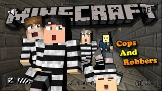 CAI NGỤC CHUỐI HÀNH HẠ OOPSCLUB (Minecraft Cops And Robbers #1)
