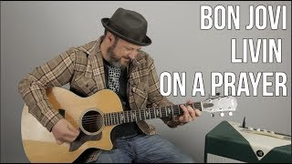 Bon Jovi - Livin on a Prayer (Easy Acoustic Songs For Guitar)