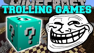 Minecraft: ETERNAL FROST TROLLING GAMES - Lucky Block Mod - Modded Mini-Game