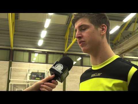Cem Cetinkaya (Hamburg Panthers) und Marvin Schalitz (SV Curslack-Neuengamme) - Die Stimmen zum Spiel (Hamburg Panthers - SV Curslack-Neuengamme, Finale EasyFitness-Cup 2015) | ELBKICK.TV