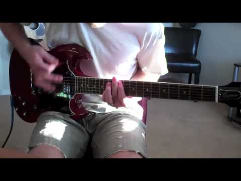 The Used - A Box Full of Sharp Objects (guitar cover)