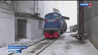 Более полутора тысяч тонн пшеницы отправилось из Марьяновского района в Монголию