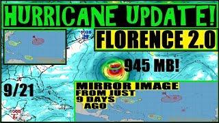 HURRICANE UPDATE! FLORENCE 2.0 to North Carolina?! CAUSING Déjà VU *Possible Super Storm*