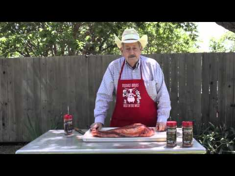 Part 1 How To: Smoked BBQ Beef Brisket with Dry Rub - Texas Brothers Guide to Cooking