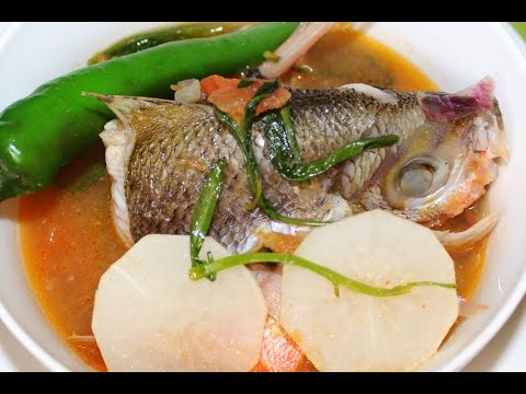 How to Cook Sinigang sa Miso Recipe - English