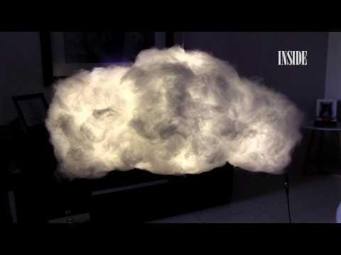 Luminária de nuvem - DIY