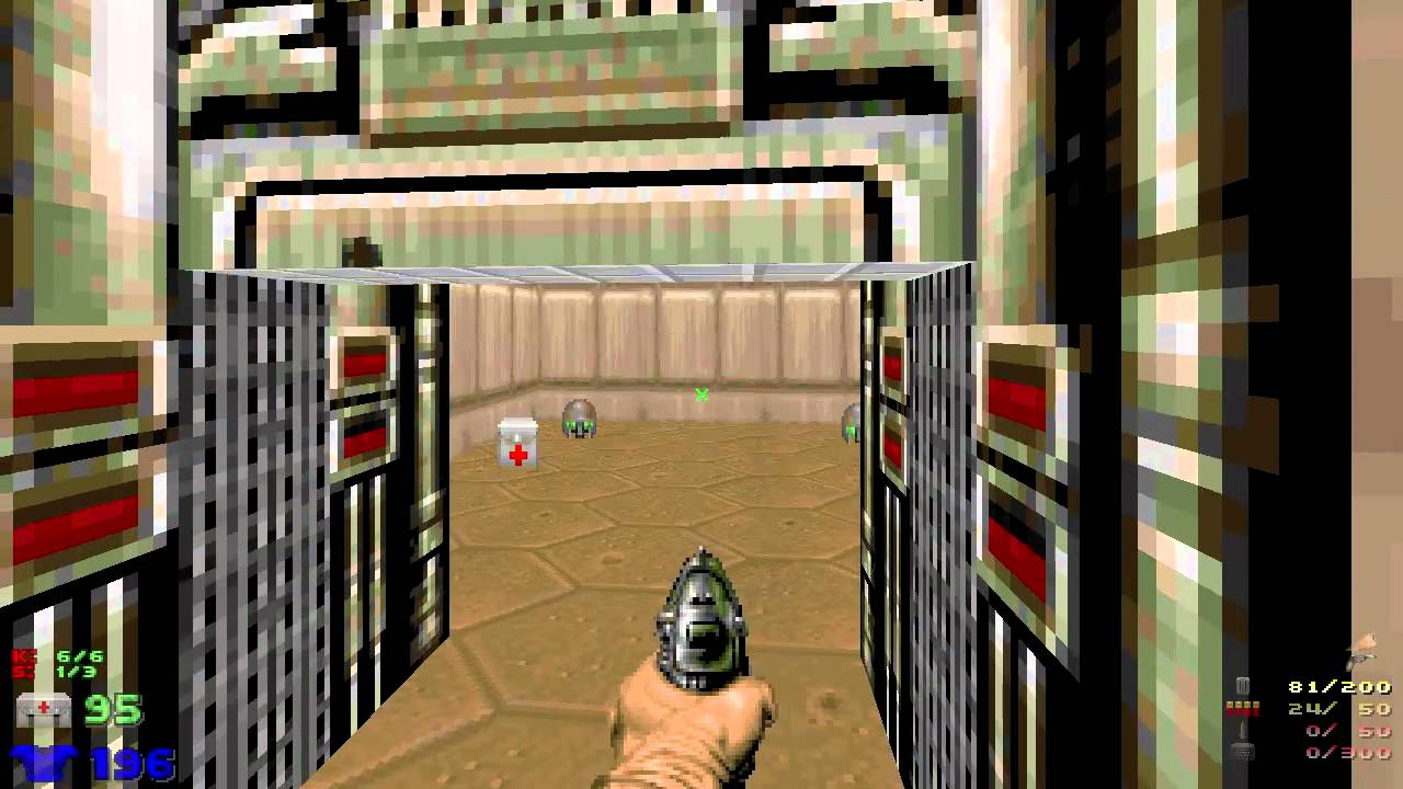 Doom, ZDoom and GZDoom gameplay - YouTube