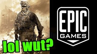 Epic Games is Trying to Buy Infinity Ward Devs.. MW4 in Trouble? Nope.