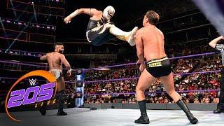 Cedric Alexander & Gran Metalik vs. Tony Nese & Drew Gulak: WWE 205 Live, Aug. 22, 2017