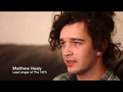 Matt Healy and social medias