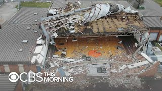 Hurricane Michael obliterates Panama City high school