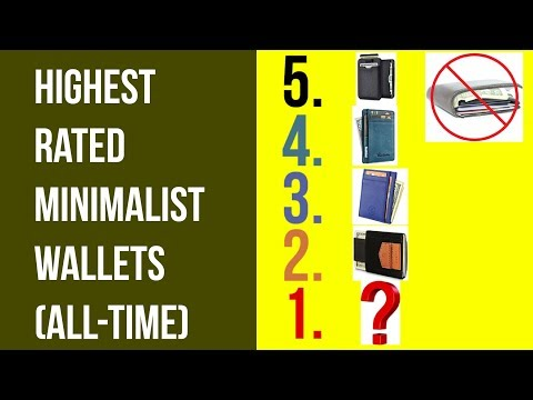 5 Best Minimalist Wallets of All-Time
