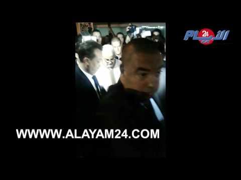 لحظة وصول عبد الإله بنكيران لمقر حزبه قبل الكشف عن نتائج الإنتخابات