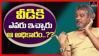 Rakesh master makes controversial comments on Pawan Kalyan..