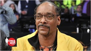 Snoop Dogg rants about marijuana in sports and Antonio Brown | Stephen A. Smith Show
