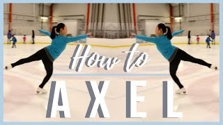 HOW TO DO THE AXEL JUMP | Coach Michelle Hong