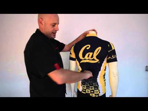 California Bear Cycling Jerseys by Adrenaline Promotions