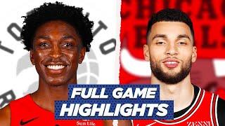RAPTORS at BULLS FULL GAME HIGHLIGHTS | 2021 NBA Season