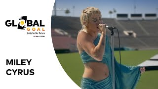 "Miley Cyrus Performs ""Help!"" 