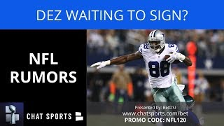 NFL Rumors: Dez Not Signing Before Season, Raiders Trade Demands For Khalil Mack, & Aaron Donald
