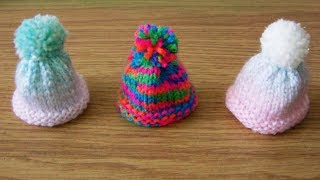 How To Knit A Mini Hat For Innocent Smoothies The Big Knit