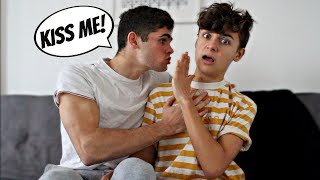 I DON'T WANT TO KISS YOU PRANK ON BOYFRIEND (Gay Couple Edition)