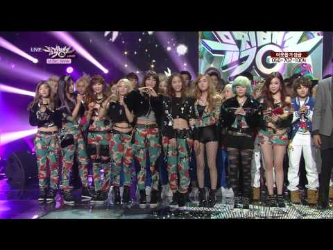 Girls' Generation 소녀시대_Win (Encore) (KBS MUSIC BANK_January.25th.2013)