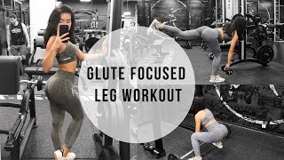 FIRST YT VIDEO   GLUTE FOCUSED LEG WORKOUT