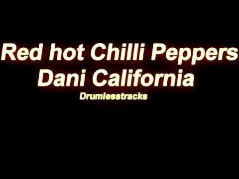 Baixar Red Hot Chili Peppers - Dani California [Drumlesstrack]