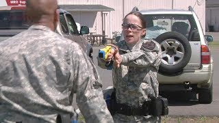 Army Military Police Taser Training