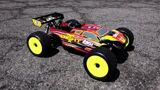 LOSI 1/8 8IGHT-T 4WD Gas Truggy RTR with AVC™ Technology - Engine Breakin
