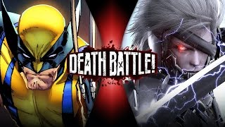 Wolverine VS Raiden (Metal Gear VS Marvel) | DEATH BATTLE!