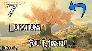 7 Cool Locations You Might Have MISSED In Breath of the Wild!!! [PART 2] (Iwata Tribute)