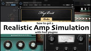 How to get a realistic sound from free amp simulations and plugins... Fail?