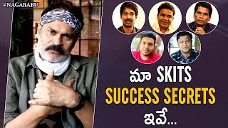 Naga Babu & Jabardasth team shares tips of making succ..