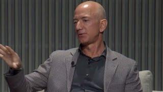 Jeff Bezos speaks at Wired25 summit