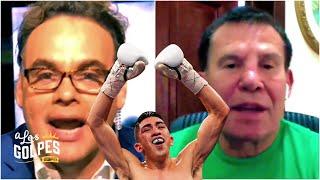 David Faitelson y Julio César Chávez sobre Leo Santa Cruz vs Davis y Váldez vs Vélez | A los Golpes