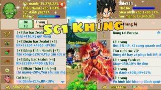 Review Con Hàng Sc1 Khủng + Pk làng kakarot | ngọc rồng online